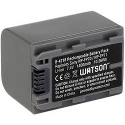 Watson NP-FP71 Lithium-Ion Battery Pack (7.4V, 1400mAh)