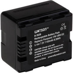 Watson VW-VBN130 Lithium-Ion Battery Pack (7.2V, 1150mAh)