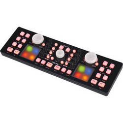 Icon Pro Audio iDJX USB MIDI DJ Controller with Touch Panel (Black)