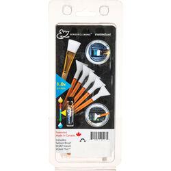 VisibleDust EZ Sensor Cleaning Kit PLUS with VDust Plus, 5 Orange DHAP 1.0x Vswabs and Sensor Brush