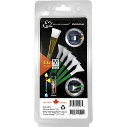 VisibleDust EZ Sensor Cleaning Kit PLUS with Smear Away, 5 Green 1.3x Vswabs and Sensor Brush