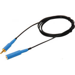 Microphone Madness 3.5mm Male to 3.5mm Female Extension Cable (Blue, 6')