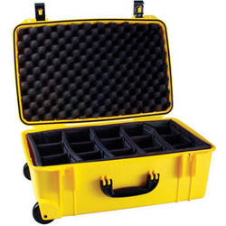 Seahorse SE-920 Hurricane SE Series Case with Customizable Padded Photo Divider Set (Yellow)