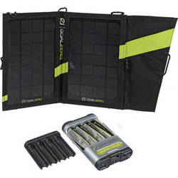 GOAL ZERO Guide 10 Plus Solar Recharging Kit with AA Batteries