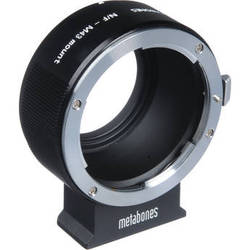 Metabones Nikon F Lens to Micro Four Thirds Lens Mount Adapter (Black)