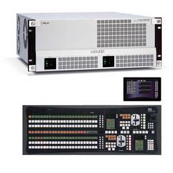 For.A HVS-4000HS 2M/E Digital Video Switcher with HVS-2244OU Control Panel