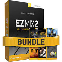 Toontrack EZmix 2 Metal Bundle Software