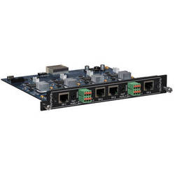 Intelix FLX-BO4A 4 Port HDBaseT Output Card with Audio De-Embedding for FLX Series Switchers