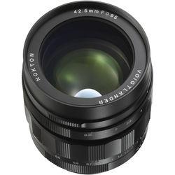 Voigtlander Nokton 42.5mm f/0.95 Micro Four Thirds Lens