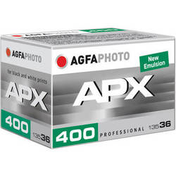 AgfaPhoto APX 400 Professional Black and White Negative Film (35mm Roll Film, 36 Exposures)