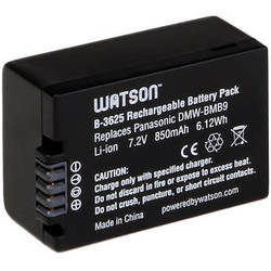 Watson DMW-BMB9 / BP-DC9 Lithium-Ion Battery Pack (7.2V, 850mAh)