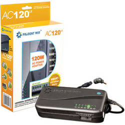Prudent Way Universal Notebook & LCD AC Power Adapter (120W)