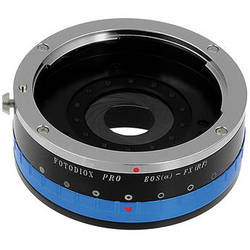FotodioX Canon EF Pro Lens Adapter with Built-In Iris Control for Fujifilm X-Mount Cameras