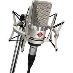 Neumann TLM-102 Large Diaphragm Studio Condenser Microphone (Studio Set,<sp> </sp>Nickel)