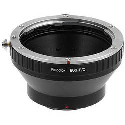 FotodioX Adapter for Canon EF Lenses to Pentax Q Mount Mirrorless Cameras