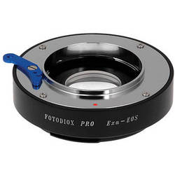 FotodioX Pro Lens Mount Adapter for Exakta/Auto Topcon Lens to Canon EF-Mount Camera with Dandelion Focus Confirmation Chip