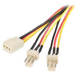 """StarTech TX3 Fan Power Splitter Cable (12"""")"""