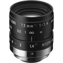 "Ricoh 12mm f/1.4 2MP 1/2"" FL Series C-Mount Machine Vision Lens"