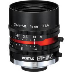 Ricoh C-Mount 16mm M Series 5 Mp Lens with Locking Screws