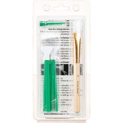 VisibleDust EZ Sensor Cleaning Kit PLUS with VDust Plus, 5 Green 1.6x Vswabs and Sensor Brush