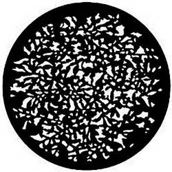 Rosco Steel Gobo #7732 - Realistic Leaves - Size A
