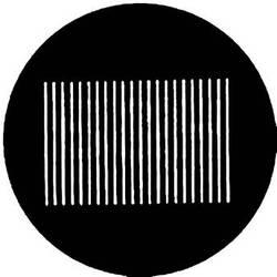Rosco Steel Gobo #7718 - Vertical Blinds