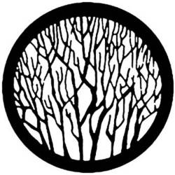 Rosco Steel Gobo #7735 - Bare Branches - Size A