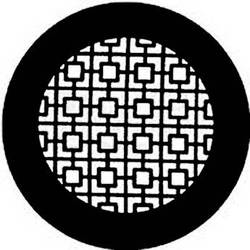 Rosco Steel Gobo #7740 - Chinese Screen - Size E