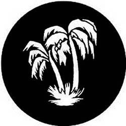 Rosco Steel Gobo #7838 - Palm Tree