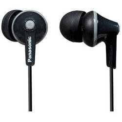 Panasonic ErgoFit In-Ear Headphones (Black)