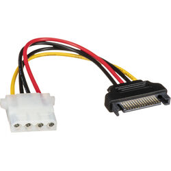 """StarTech 6"""" SATA to LP4 Power Cable Adapter"""
