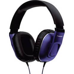 Panasonic Street Band HT470C Over-Ear Monitor Headphones (Purple and Black)