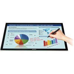"""Sharp LL-S201A 20"""" Widescreen Multi-Touch LED Backlit LCD Monitor"""