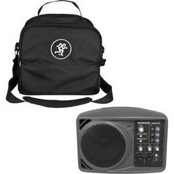 Mackie SRM150 Compact Active PA System with Speaker Bag Kit