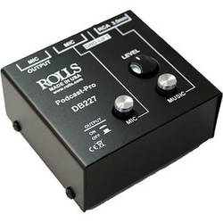 Rolls Podcast Pro Microphone/Source Passive Mixer