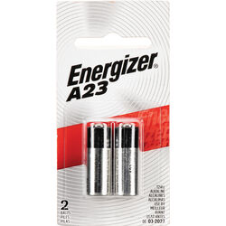 Energizer A23 12V Alkaline Battery (2 Pack)