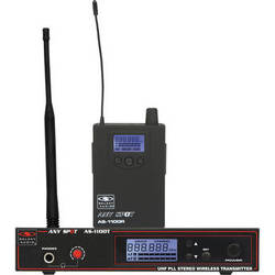 Galaxy Audio AS-1100 Personal Wireless Stage-Monitoring System (D-Band: 584 to 607 MHz)