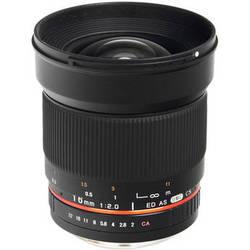 Bower 16mm f/2.0 ED AS UMC CS Lens for Sony Alpha Mount