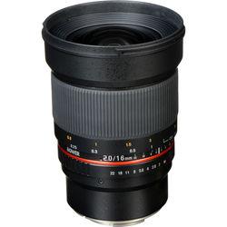 Bower 16mm f/2.0 ED AS UMC CS Lens for Canon EF-M Mount