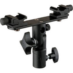 Impact Twin Shoe Metal Umbrella Bracket