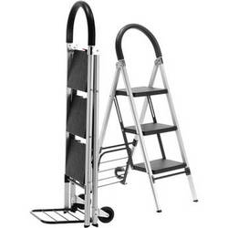 Travel Smart by Conair Ladderkart Professional Grade Combination Stepladder and Hand Cart