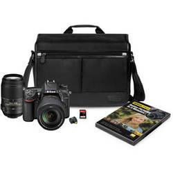 Nikon D7100 DSLR Camera with 18-140mm and 55-300mm Lenses Kit
