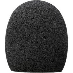 "Auray WHF-158 Foam Windscreen for 1-5/8"" Diameter Microphones (Black)"