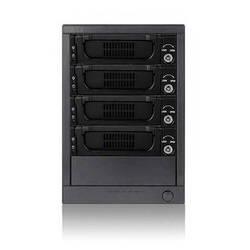 "iStarUSA 3.5"" 4-bay SAS/SATA 6.0 Gb/s miniSAS Hot-Swap Enclosure (Black)"