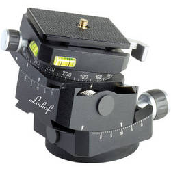 Linhof 3D Micro Geared Leveling Pan and Tilt Head with Quickfix