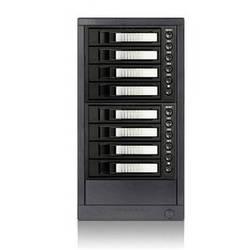"""iStarUSA 3.5"""" 8-Bay SAS/SATA 6.0 Gb/s eSATA Hot-Swap Enclosure (Silver)"""