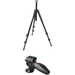 Manfrotto 294 Aluminum Tripod with 324RC2 Grip Ball Head Kit