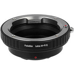FotodioX Adapter for Leica M Mount Lenses to Pentax Q Mount Mirrorless Cameras