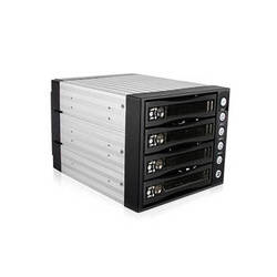 "iStarUSA BPU-340SATA 3 x 5.25"" to 4 x 3.5"" Bay SAS/SATA 6.0 Gb/s Hot-Swap Cage (Lockable)"