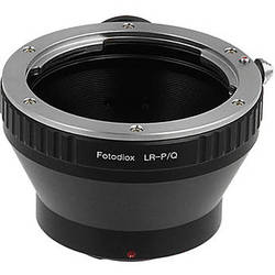 FotodioX Adapter for Leica R Mount Lenses to Pentax Q Mount Mirrorless Cameras